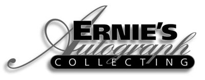 autograph collecting by ernie